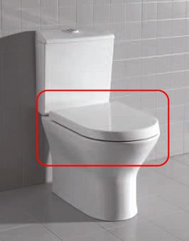 ASIENTO FIJO INODORO NEXO BLANCO - TAPA WC NEXO BLANCOAsiento y tapa para inodoro modelo Nexo en acabado blanco.. Repuesto original de la marca