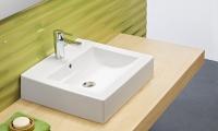 LAVABO 50X45 WAVE C/REBOSADERO BCO. 03030 (GALA) - WaveLavabo 50x45 cm.Lavabo de líneas rectas, básicas y elegantes adaptable a cualquier espacio. Con rebosadero.Balda auxiliar, Grifería y Válvula desagüe no incluido.