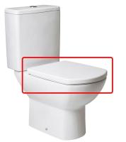 ASIENTO INODORO SMART BLANCO - TAPA WC SMART BLANCOAsiento y tapa para inodoro modelo Smart en acabado blanco.. Repuesto original de la marca