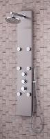 COLUMNA DE HIDROMASAJE ELMA - COLUMNA DE HIDROMASAJE ELMAColumna de hidromasaje de acero inoxidable con grifería termostática, ducha superior redonda, teleducha y 6 jets orientables, medidas 1450x220 cms;
