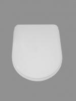 ASIENTO FIJO INODORO STYLO BLANCO COMPATIBLE - TAPA WC STYLO BLANCO COMPATIBLEAsiento y tapa para inodoro modelo Stylo en acabado madera lacada blanco.Repuesto COMPATIBLE.