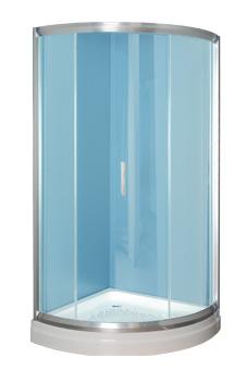 En forma de puerta corredera puerta 8 mm cristal for Cristalerias en algeciras