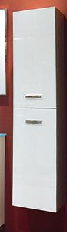 PILAR DE BAÑO SUNDAY BLANCO - PILAR DE BAÑO SUNDAY BLANCO DE 140 CM;en color blanco con dos puertas. ref. 85157.