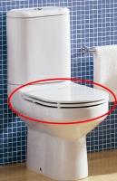 SANITARIOS » ASIENTOS y TAPAS WC » TAPA WC - ASIENTOS INODOROS