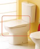ASIENTO FIJO INODORO ARCADIA BLANCO - TAPA WC ARCADIA BLANCOAsiento y tapa para inodoro modelo Arcadia en acabado blanco.. Repuesto original de la marca