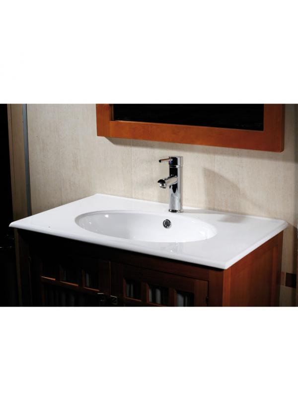 LAVABO 600 ROSCA UC9060-F BCO R.380A9