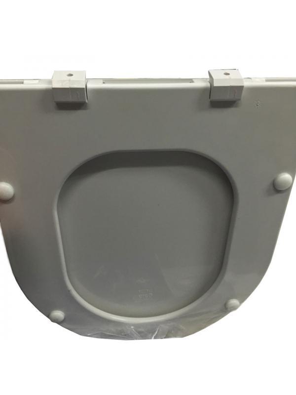 ASIENTO  INODORO MARINA BLANCO modelo anterior a 2007 - TAPA WC MARINA BLANCOAsiento y tapa para inodoro modelo Marina en acabado blanco. Válido para inodoros fabricados antes de 2007. El asiento se compone de tapa, aro y anclajes de unión al inodoro.      Si su modelo es de 2007 o posterior debe adquirir la referencia E51423 que puede ver en productos relacionados.. Repuesto original de la marca