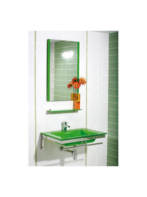 Mueble mare verde bathdeco arance la ballena tienda for Mueble lavabo 50 ancho