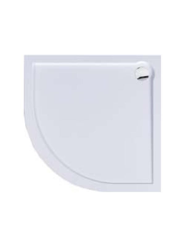 Plato de ducha acrilico angular de 80x80 cm Bluline