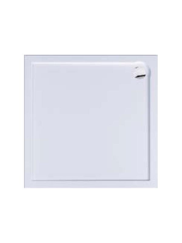 Plato de ducha acrilico cuadrado de 100x100 cm Bluline - Plato de ducha cuadrado acrilico Bluline de 100x100 cm
