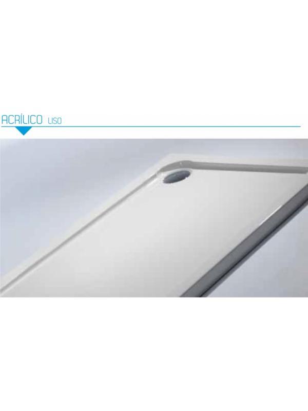 Plato de ducha acrilico rectangular Bluline. Ancho de 75 cm. - Plato de ducha rectangular acrilico Bluline de 75 cm de ancho.
