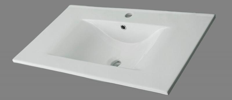 Lavabo de porcelana blanco de medidas 91x46 for Lavabos de porcelana